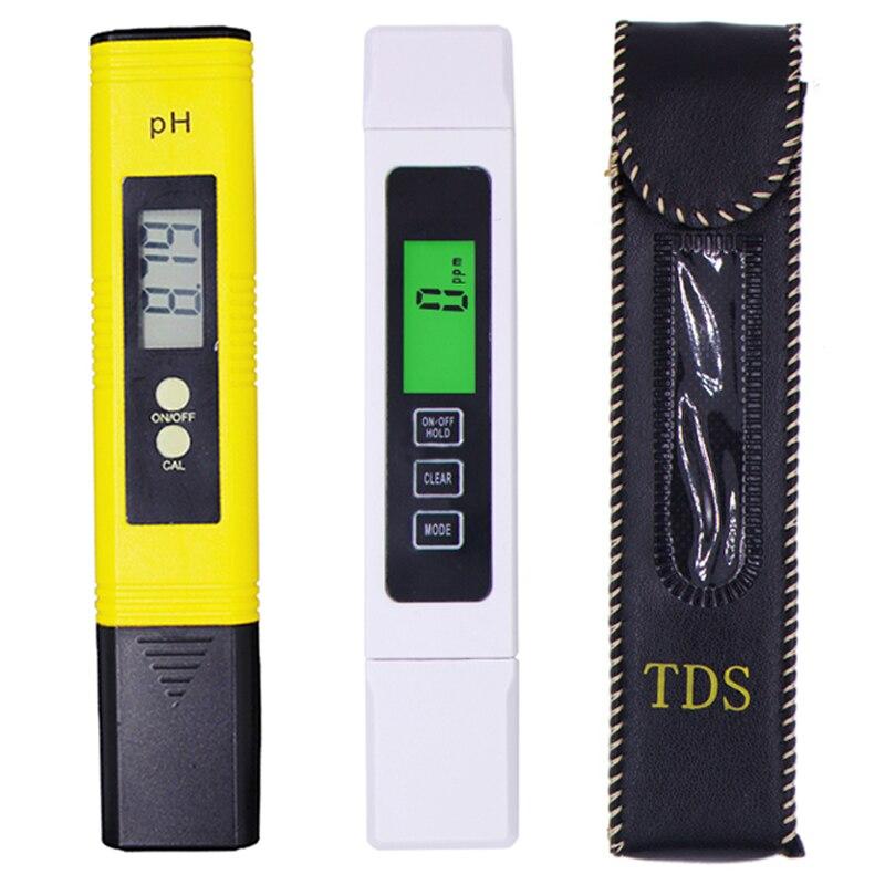 Medidor de PH Digital portátil de alta precisión TDS EC PPM medidor de Calidad de Agua probador de pluma uso para piscina de acuario 39% de descuento