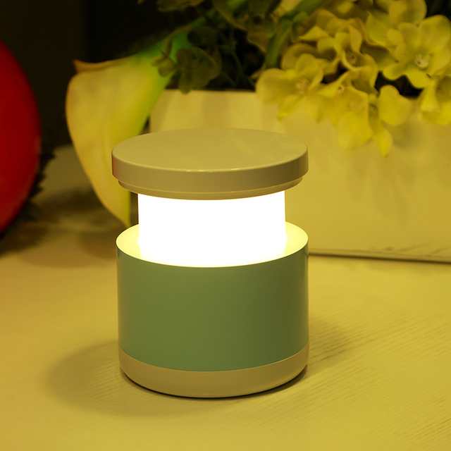 Новейшая USB Аккумуляторная Ночник Прикроватные Тумбочки, Настольные Лампы Luminarias Дети Спальные Огни Красочные Телескопический Лампы Home Decor