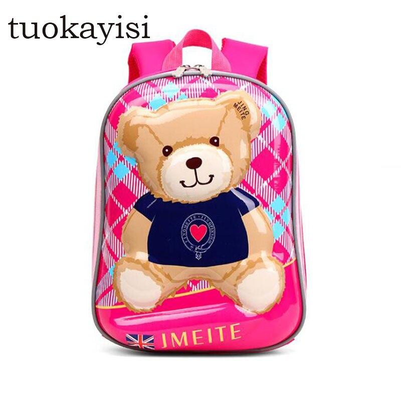 Children waterproof orthopedic School Bags Cartoon School Bag Backpacks Kindergarten Preschool Backpack Kids child Book bag