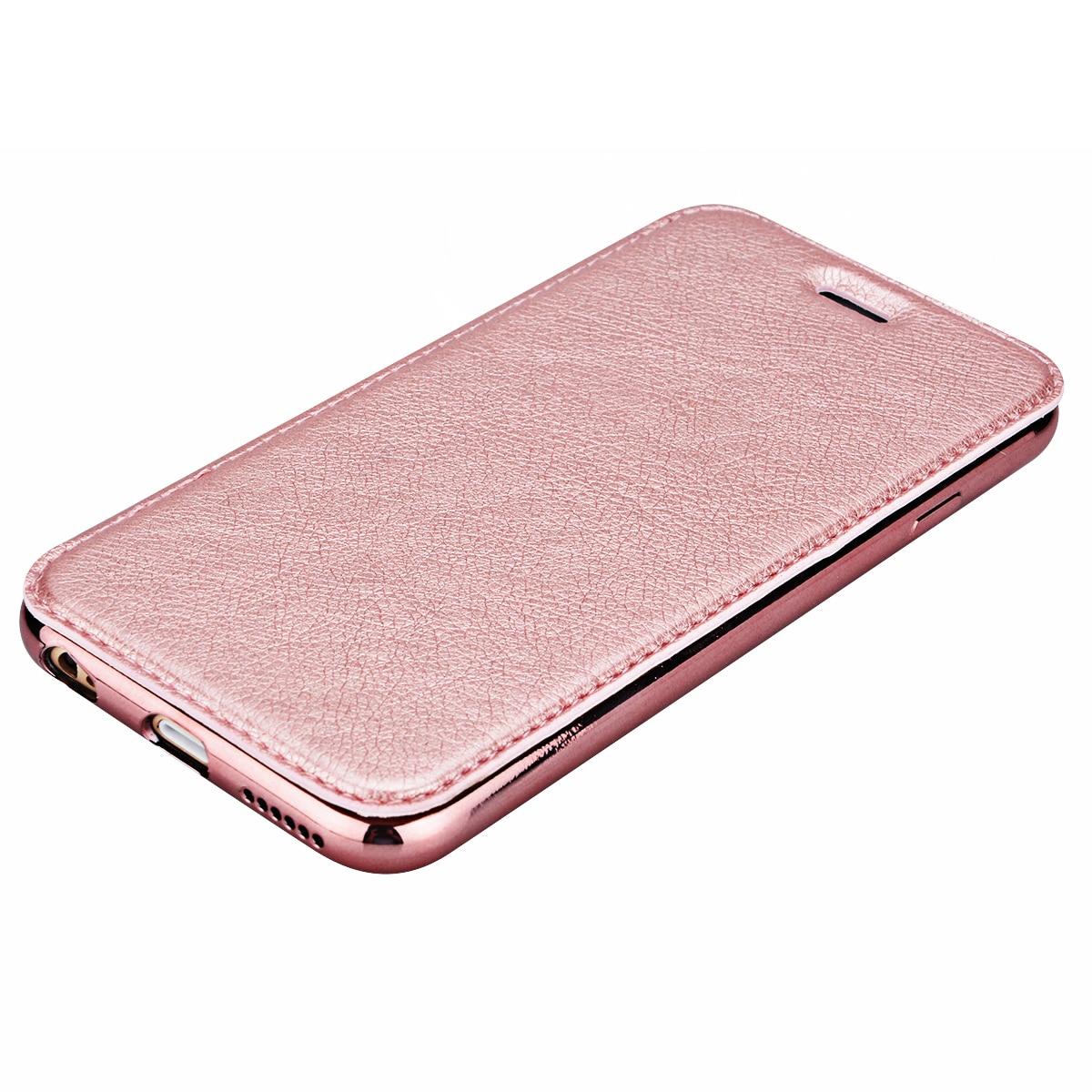 Funda de cuero PU de lujo para iPhone 5 5s SE 6 6s 7 Plus Funda para - Accesorios y repuestos para celulares - foto 4