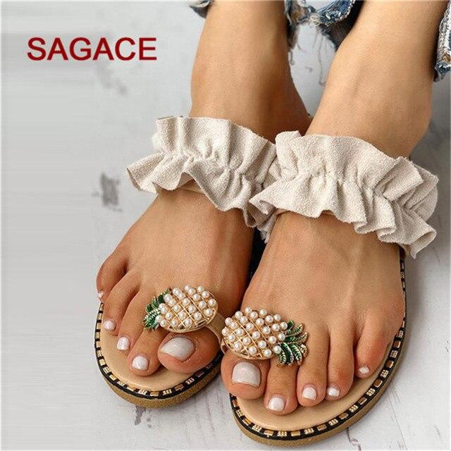 Women flip flop pineapple sandal for summer days 4