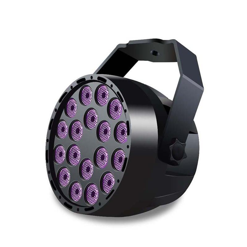 18W LED Par Disco Light UV Laser Projector DMX 512 Stage Light 110-240V Strobo Dj Music Moving Head Party Lamp luces discoteca imlight strobo light 1500