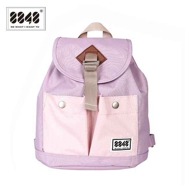 f7d05ebca8db 8848 Preppy Style Women Backpack Waterproof Purple Backpack 5 Colors Lady  Women s Backpacks Female Casual Travel Bag 041-029-002