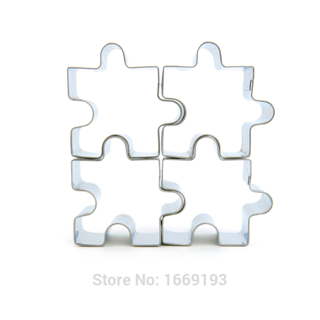 Puzzle Shape Sugarcraft Cake Decorating Fondant Cutters Tool Cookies And Muffins Craft Molds,Direct Selling