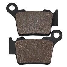 Cyleto – plaquette de frein arrière de moto, pour HUSQVARNA CR 250 2005 FC250 FC 250 14-17 FE250 FE 250 14-17 TE 300 TE300 2014 TE310 09-13