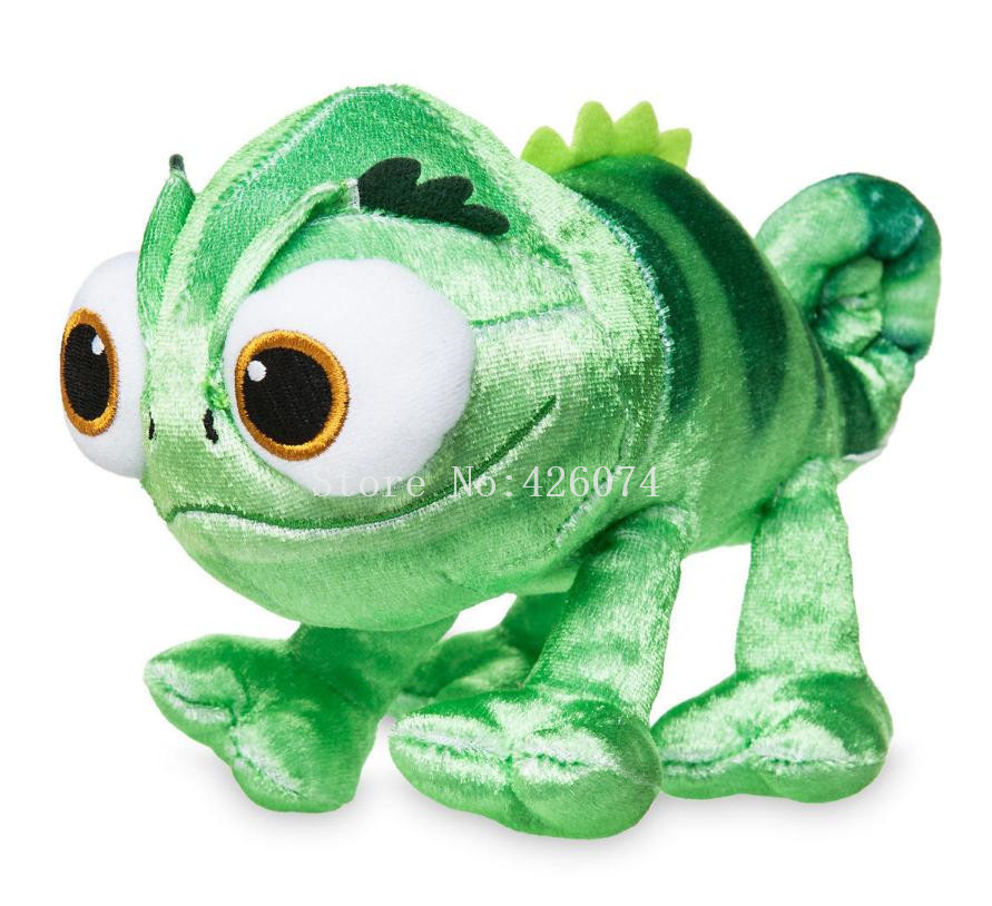 New Tangled Pets Pascal Chameleon Plush 22CM Kids Stuffed AnimalsToys For Children  Gifts