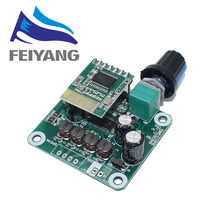 Bluetooth 4.2 TPA3110 15w+15W Digital Stereo Audio Power Amplifier Board Module 12V-24V car for USB Speaker,Portable Speaker(China)