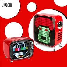 Divoom Pixel Tivoo Портативный Tivoo Макс открытый Беспроводной Bluetooth аудио Колонка пиксель арт светодиодный часы умный будильник с App