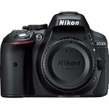 Nikon D5300 DSLR Camera 24 2MP 1080P Video 3 2 Vari Angle LCD WiFi
