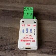 NEW USB2.0 PARA PODE cabo adaptador RS232 PARA CAN Depurador PODE bus analyzer com cabo USB apoiar o desenvolvimento Secundário