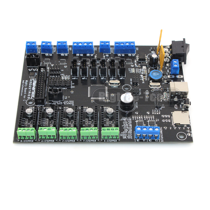 Brand MightyBoard 3D Printer Motherboard Makerbot Circuit Board Main Controller Panel Driver Board for 3D Printer подарки для новорожденных купить в беларуси