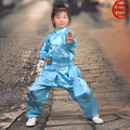 Boys and Girls 8 Colors Tai chi Kung fu Suit Martial arts Wing Chun Wushu Karate Uniforms