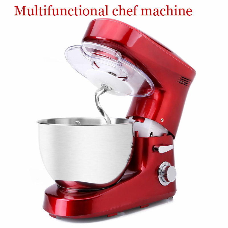 Multi-functional chef machine 6L home/commercial  chef machine noodle machine kneading egg stirring machine stainless steel