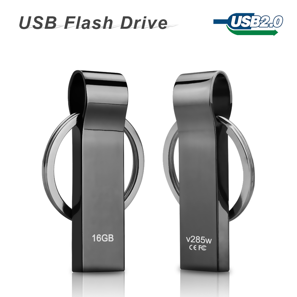 usb flash drive pen drive 64gb 32gb waterproof super metal. Black Bedroom Furniture Sets. Home Design Ideas