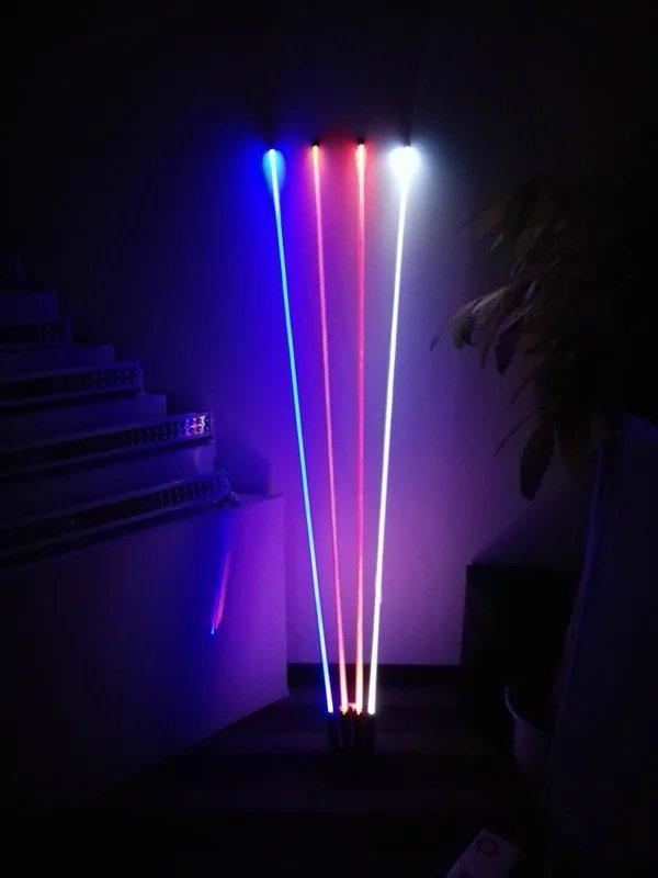 1.5 m LED lumière d'antenne Nouveau Night Stalker Motocross D'ATV UTV Dune De Sable Drapeau Barre LED Pour Extérieur Offroad Motoneige moto