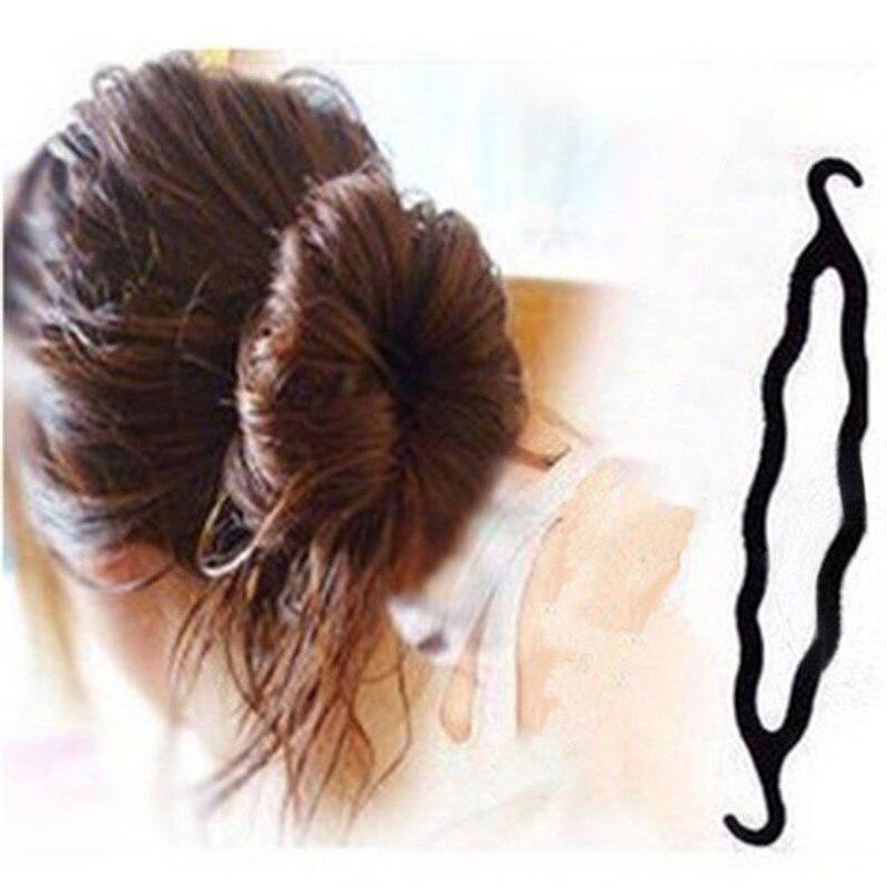 Hot Sale 3 Pcs Fashion Magic Plastic Hair Stick Hook Pattern Energy