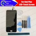 Umi mais Display LCD + Toque Substituição Do Painel de Vidro Digitador Da Tela 100% Original Novo Testado Para plus + Ferramentas + adesivo