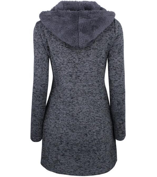 Complet Up Femmes Chaud Retour Longue 2xl Automne Laine Manteau Femme Noir Hiver Manteaux Manches Lace S Bleu Gris YpqYw