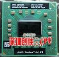 Del envío libre cpu del ordenador portátil amd turion tl-66 cpu 1 m caché/2.3 ghz/socket s1/dual-núcleo del ordenador portátil tl tl66 procesador 66