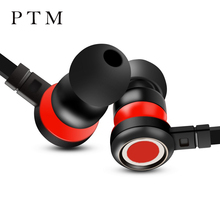 Original PTM P5 Earphone Super Bass Earbuds with Microphone Gaming Headset for Mobile Phone Andriod Phone Xiaomi