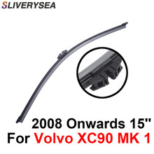 SLIVERYSEA Rear Wiper Blade No Arm For Volvo XC60 MK 1 2008-2013 15'' 5 door SUV High Quality Iso9000 Natural Rubber D3-38 цена