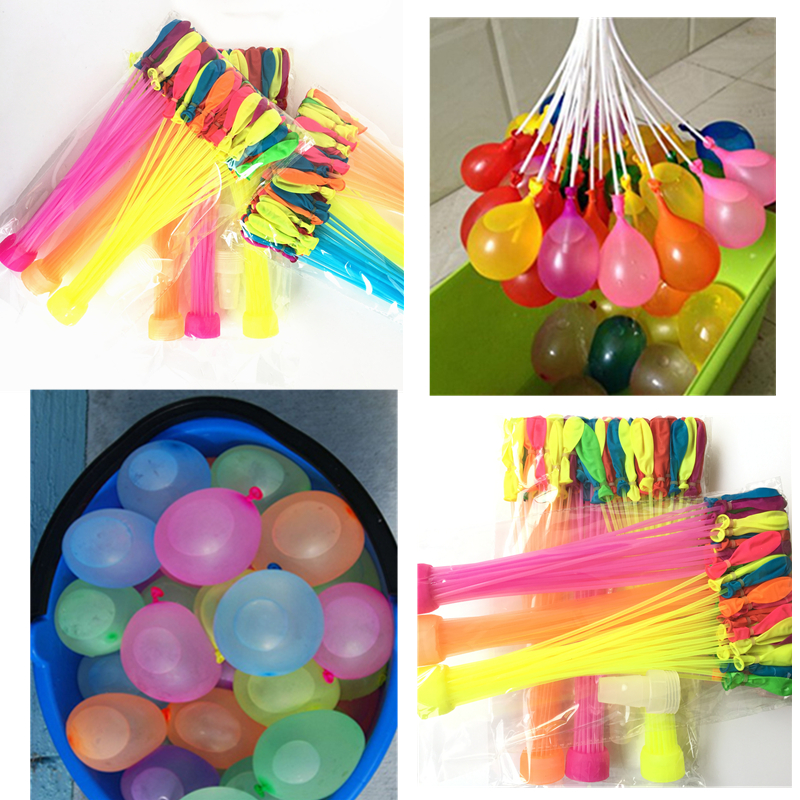 111pcs/bag Summer Magic Bomb Water Balloons Bunch T Of Balloons Tied Kids Garden Already Party Dropshipping Toys For Children 3 beam of balloons colorful magic water balloons outdoor recreation and water play toys
