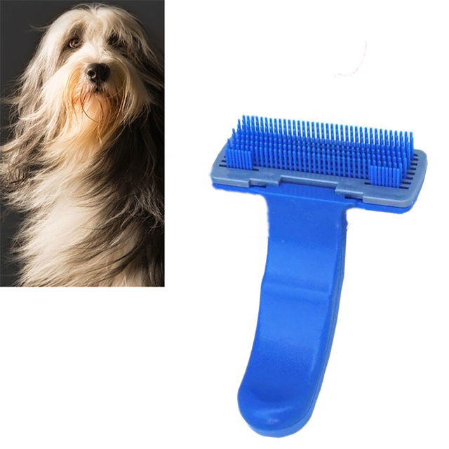 Dog Cats Brush Hair Trimmer Grooming Massage Comb for Pets Shedding Removal Combs Pet Grooming Tool 7D20