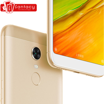 Presale Original Xiaomi Redmi 5 Plus 3GB RAM 32GB ROM Smartphone Snapdragon Fingerprint ID Redmi5 Plus gorros de baño con flores