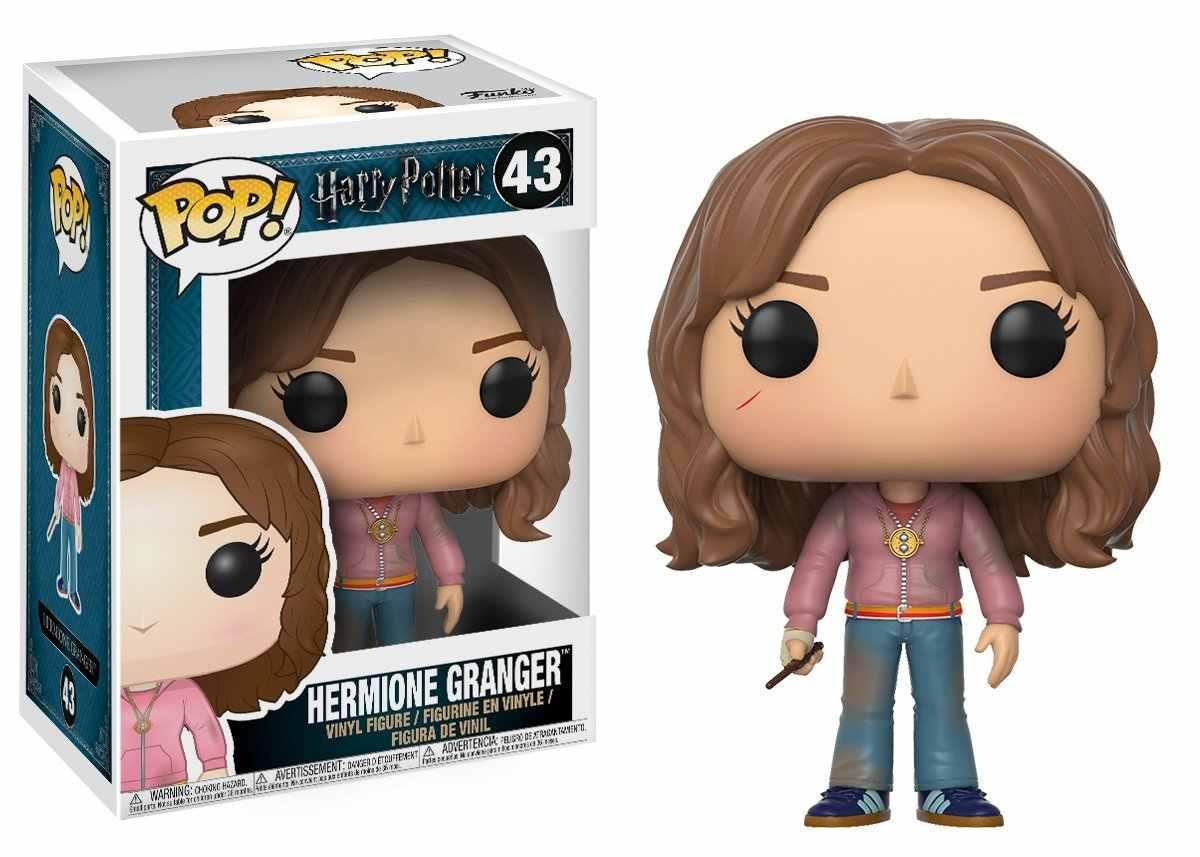 Oficial funko pop harry potter-luna, hermione, ron, ginny, peter vinil figura de ação collectible modelo de brinquedo com caixa original