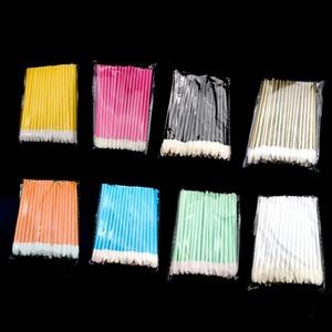 Image 1 - 1000 шт. одноразовых косметических искусственных помад, Кисть для макияжа, ручка, помада, тушь, палочки