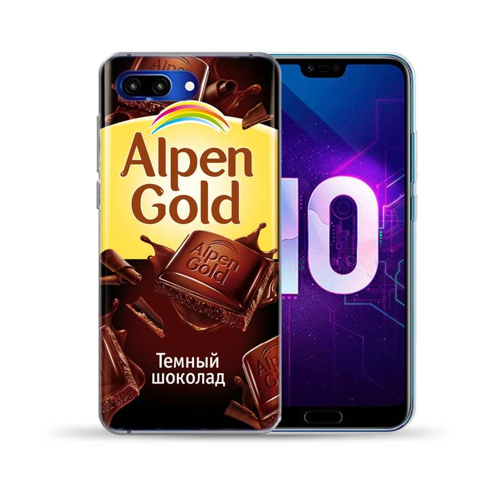 For Huawei Honor 9 10 Lite 8X 8C 7A Note 10 Funny Chocolate Soft Case Cover For Huawei Y5 Y6 II Y3 Y7 2017 Y9 2018 NOVA 4 3 3I