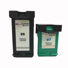2pk Ink Cartridge for HP 96 Black & 97 Color For HP Officejet 7210 7310 7410 7410xi hp 51649ae 49 color