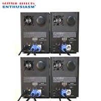 4 stks/partij Professionele dmx afstandsbediening stage koude vonk fontein machine titanium poeder machine voor bruiloft dj disco