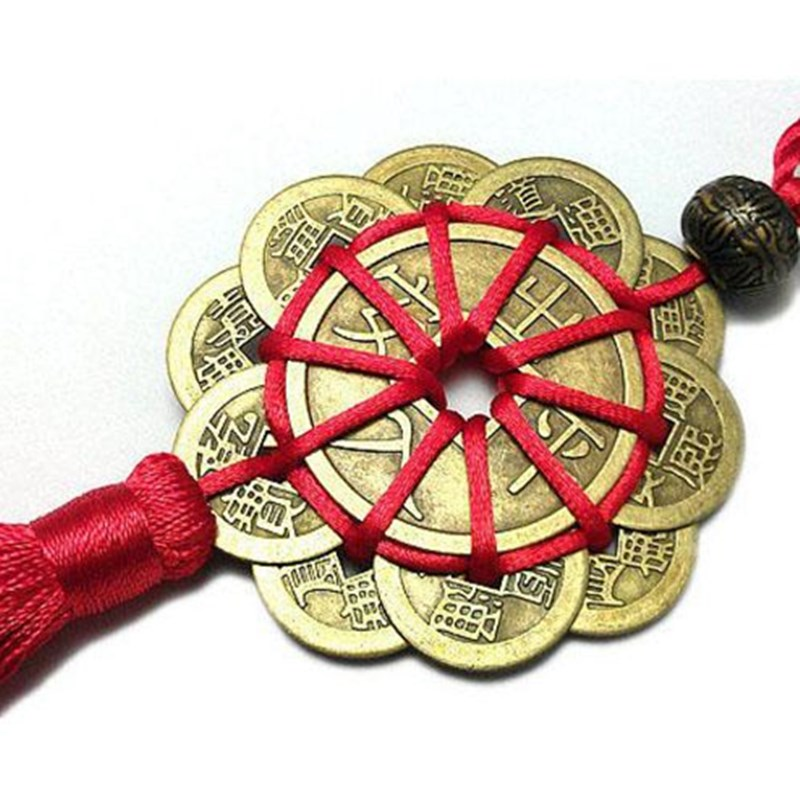 Newest High Quality Chinese Lucky Wealth Good Luck Coins Feng Shui