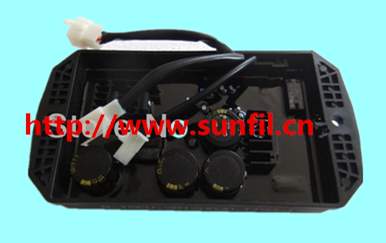 High quality Automatic three phase automatic voltage regulator AVR8-15kw ten wires gasoline generator parts,Free shipping generator automatic voltage regulator avr r438 three phase automatic voltage regulator 1pc