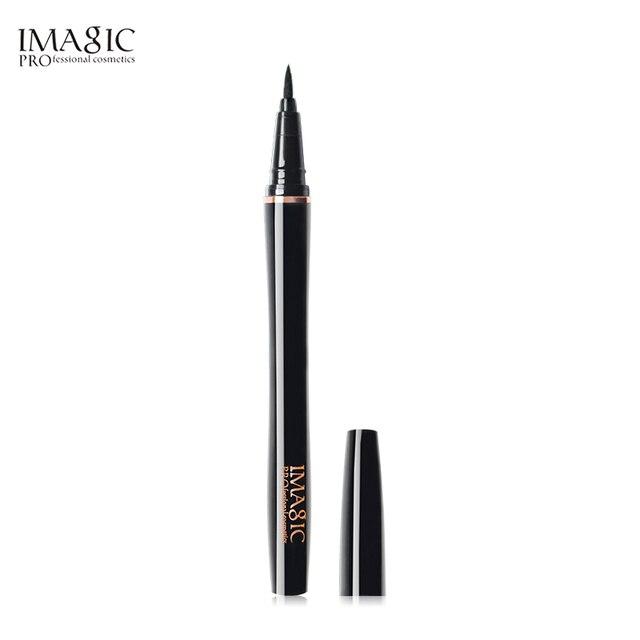 IMAGIC Professional Makeup Waterproof  Long Lasting  Liquid Eyeliner - Black  High Pigment Long Lasting Eyeliner