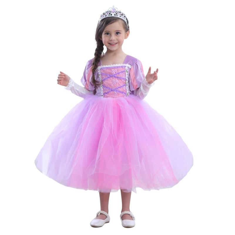 Sofia Princess Dress Kids Cosplay Costumes Girls New Arrival: Anime Princess Sofia Kids Girls Dress Cosplay Costume