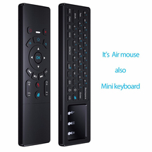 2.4G Fly Air Mouse Mini Wireless Keyboard & Touchpad Remote Control for SmartTV Android TV Box mini PC HTPC Projector TVbox
