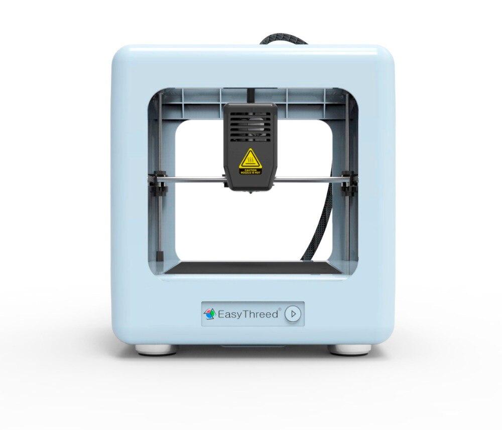 Imprimante 3D easythree entièrement plastique cadre fermé avec un Support de clé et une imprimante 3D de carte SD d'extrudeuse Titan de HotBed amovible