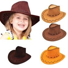 Oeste Mens Senhoras Unissex Chapéus Crianças Crianças Jazz Cavaleiro de Bull Cowboy Cowgirl Cowgirl Ocidental Viagem Chapéu Sunhat Verão