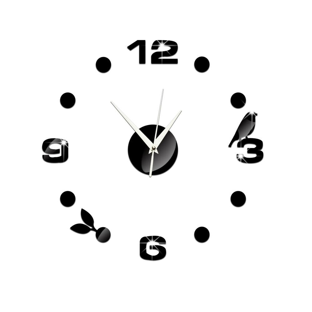 wall clock design reloj de pared quartz watch large decorative diy ...