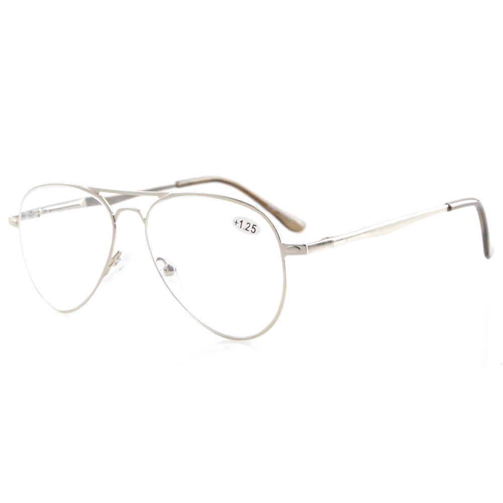 R15036 Eyekepper Readers Quality Spring Temples Pilot Style - ملابس واكسسوارات
