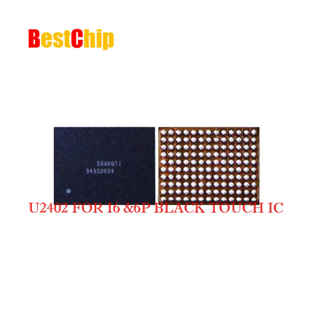 purchase cheap 66355 a8f2b US $138.0 |20pcs/lot Original new black Touch screen Touch IC chip for  iPhone 6 6Plus 6P 6G U2402-in Integrated Circuits from Electronic  Components & ...