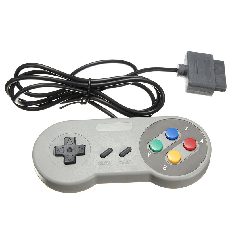 Top Sale New Arrival Wired Game Controller Console Pad Gamepad For Nintendo NES/SFC For Windows PC Replacement