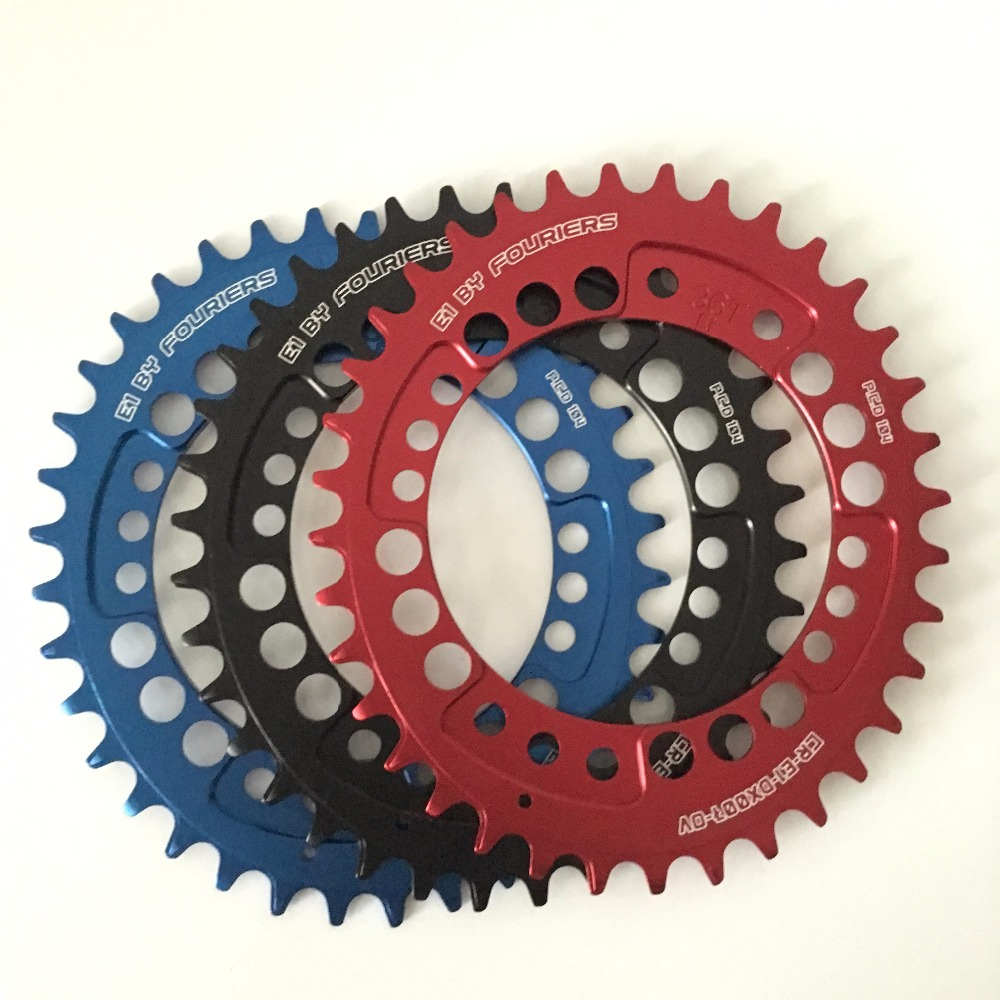 1pc Fouriers CNC bike bicycle Single Chain Ring 34T 36T Chainrings 104BCD For S h i m a n o Oval Shape Narrow Wide Tooth 1pc fouriers cnc bike bicycle single chain ring 34t 36t chainrings p c d 104 for s h i m a n o oval shape narrow wide tooth