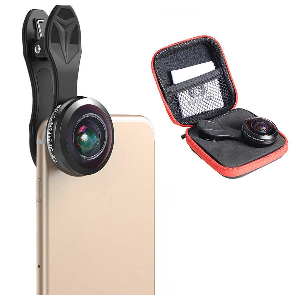 238 градусов Оптическое стекло подарок камера широкий угол аксессуары мини телефон Профессиональный Универсальный 0.2X полная Рамка устойчивый