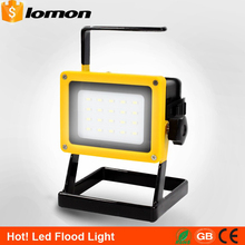 20 LED Flood Lights Portable Magnetica Work Light Rechargeable LED Flood Spot Camping Hiking Lamp Outdoor Handle Emergency Light