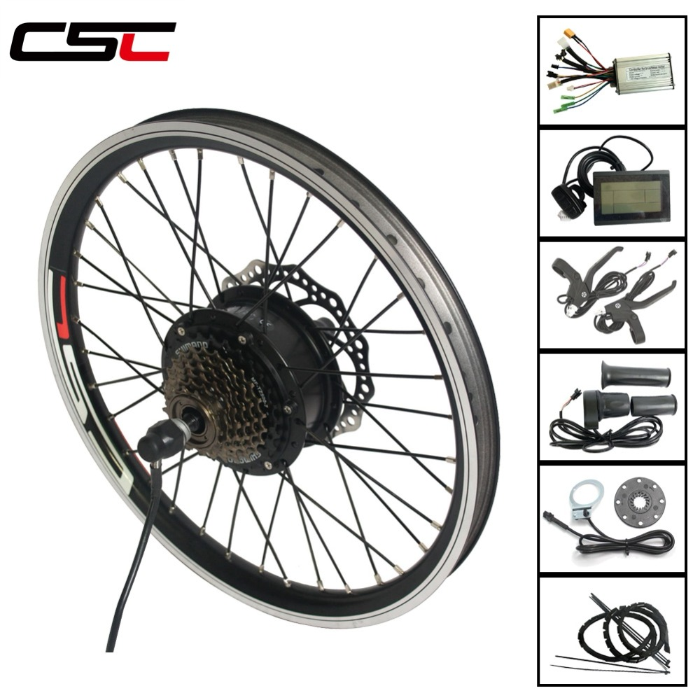 electric bicycl Conversion Kit 36V 350W Bluetooth Hub Motor For 20 24 26 28 29 700C