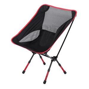 Image 1 - Verschiedenen Farben Strandkorb Fischenstuhl Mond Stuhl Erhöhte Stuhl Faltbare Hocker Outdoor ausrüstung Für Outoor Aktivitäten