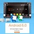 Universal 2 din Android 6.0 jogador Do Carro DVD GPS Bluetooth Wi-fi rádio 2 GB DDR3 CPU Tela de Toque Capacitivo 3G pc carro aduio obd2